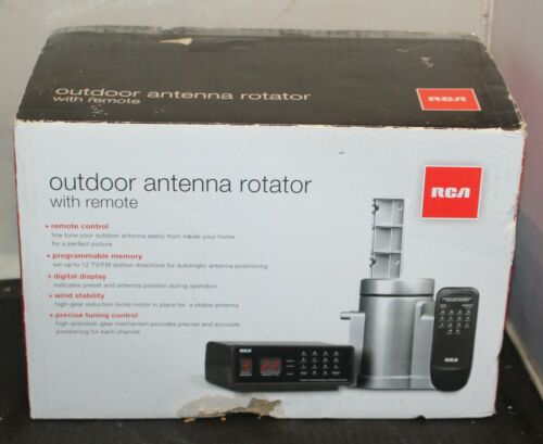 RCA Outdoor Rotator with Remote and Automatic Programmable Antenna Rotor VH226E