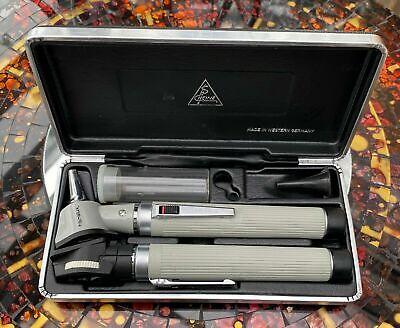 Heine Miini Miroflex 2 Ophthalmoscope Otoscope West Germany