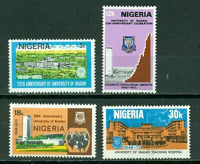 Nigeria Scott #313-316 MNH University of Ibadan $$