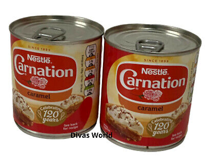 NESTLE Carnation Caramel No Added Colours Brand New Pack Of 2 X 397g