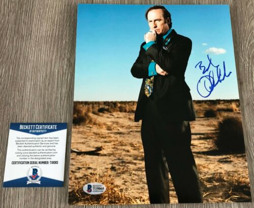 BOB ODENKIRK SIGNED BREAKING BAD BETTER CALL SAUL 8x10 PHOTO w/PROOF BECKETT BAS