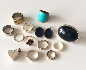 Assorted jewellery (silver, gold, costume) from $5 Perth Perth City Area Preview
