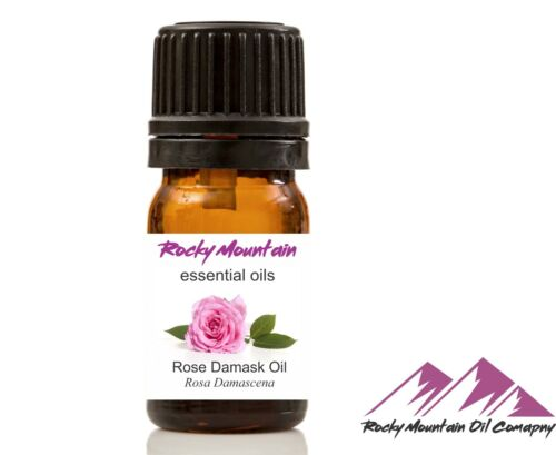 PURE & NATURAL ROSE (DAMASK) ESSENTIAL OIL  5 ml to 4 oz