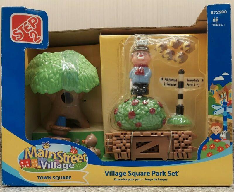 *Brand New* Step 2 Main Street Village Square Park Set #872200 2007