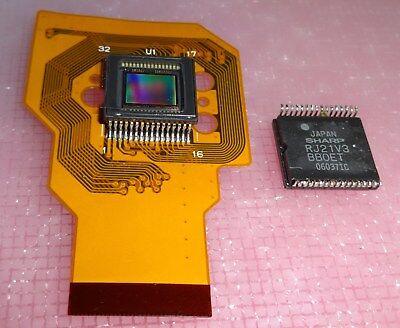 CCD IC Image Sensor Sharp RJ21V3 Bildsensor DigiCam  - Sharp Ccd Sensor