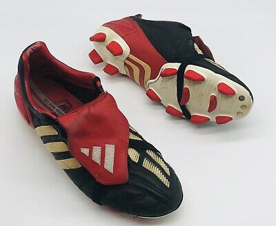 2002 ADIDAS PREDATOR MANIA FIRM GROUND UK SIZE 8 US 8.5 FOOTBALL BOOTS