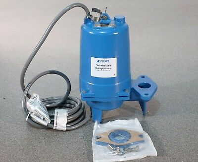 Goulds Ws1037bhf Model 3887bhf Submersible Sewage Pump 575 Volts