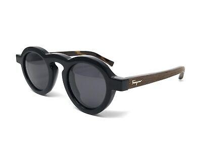 Salvatore Ferragamo Sunglasses 812 001 mens Black 44x25x145