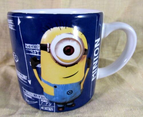 Universal Studios Minion Coffee Cup 6 Ounce 3D Embossed