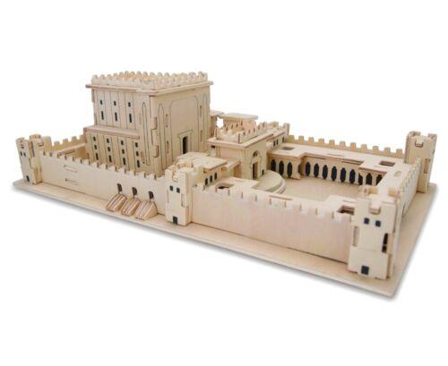 "Jerusalem Model holyland ""The Temple""3D puzzle israel The Mikdash"