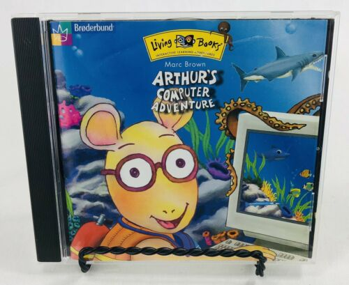 Computer Games - Arthur's Computer Adventure for PC CD-ROM Complete