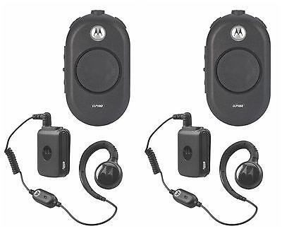2 Motorola Clp1060 Uhf Business Two-way Radios. Buy 6 Get A Free Radio