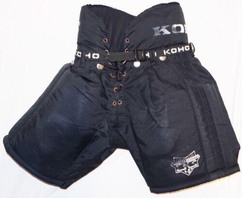 """KOHO ULTIMATE PADDED ICE HOCKEY PANTS - JUNIOR SMALL 23""""-25"""" BLACK USED"""