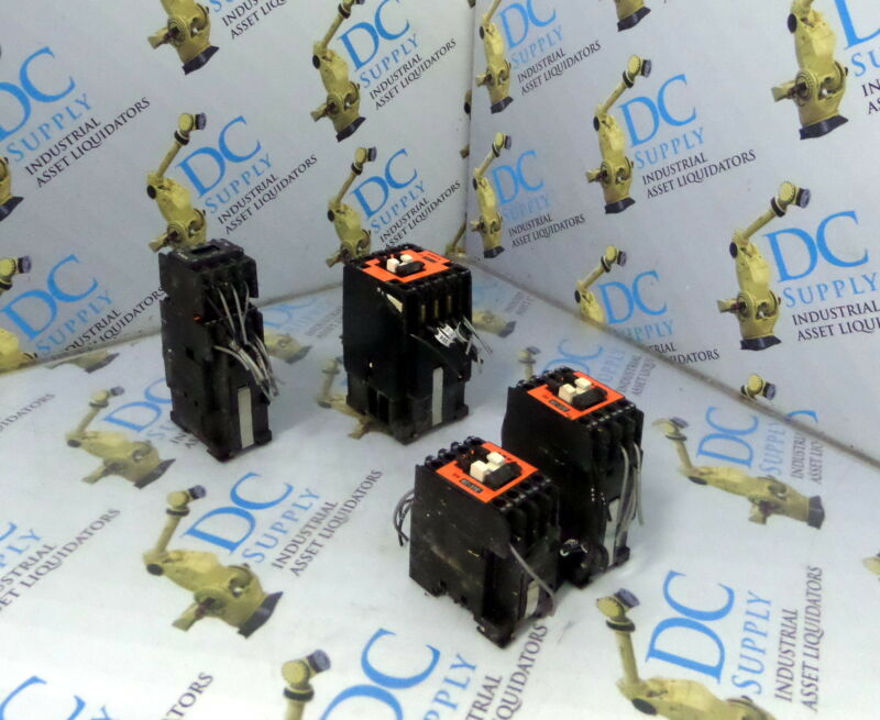 ASEA EH 22C 24V CONTACTOR, ASEA EH6C-31E 220V CONTACTOR & OTHER VARIOUS LOT OF 4