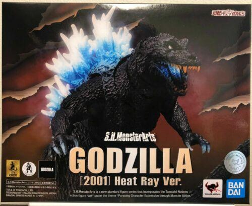 S.H.MonsterArts Godzilla 2001 Heat Ray Ver Action Figure Bandai Tamashii Nations