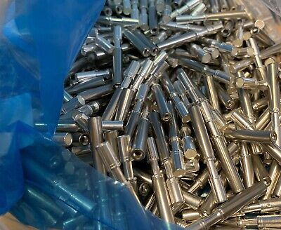 1500 Amphenol Aerospace Silver Copper Female Crimp Socket Contacts 12-10 Awg