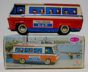 Vintage-tin-toys-touring-car-coach-China-550-MF-134-MIB-MS-ME-MF-SH