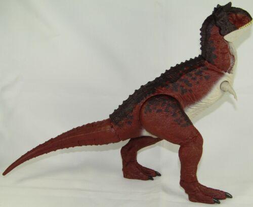 "Jurassic World Carnotaurus 15"" Long 7&1/2"" tall dinosaur toy action figure"