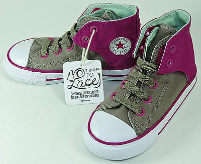 Pink Chuck Taylors For Toddlers (Converse Girls' Chuck Taylor All Star Easy HI For)
