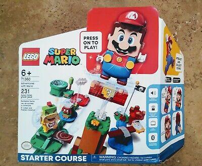 LEGO Super Mario Adventures Mario Starter Course 71360 in hand ships now