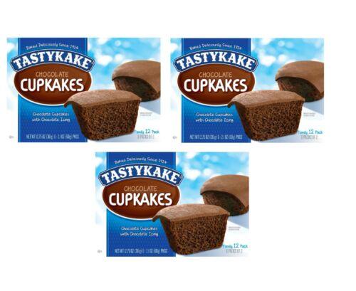 Tastykake Chocolate Cupcakes (2.13oz / 6pk) - Qty of 3