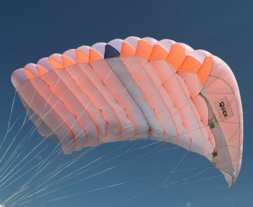 Quick 150 skydiving parachute reserve canopy - 7 cell - F111 - mint shape