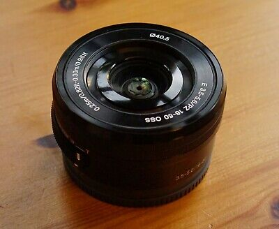 Sony SELP1650 E 3.5-5.6/PZ 16-50mm OSS Zoom - E MOUNT - excellent condition.