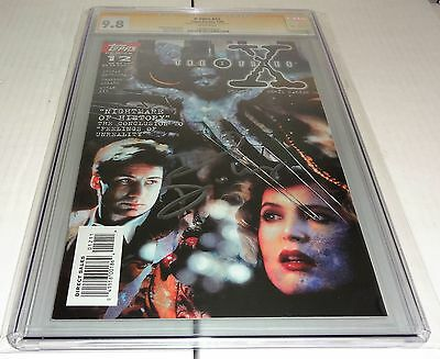 X-Files #12 CGC SS 9.8 Signature Autograph DAVID DUCHOVNY Signed Topps Comics