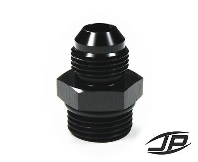 ORB-10 O-ring Boss AN10 10AN  to AN8 8AN  Male Adapter Fitting Black