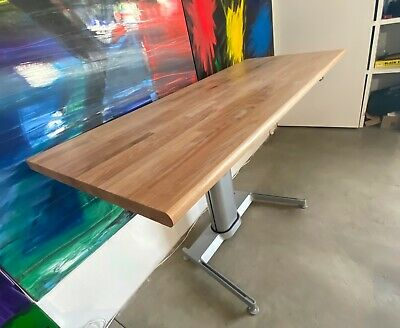Steelcase Airtouch Standing Desk Height Adjustable Sit To Stand