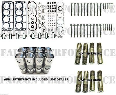 Chevy/GMC 5.3L Cylinder Head Gasket Set+Bolts+Lifters Kit 05-09 minus AFM lifter