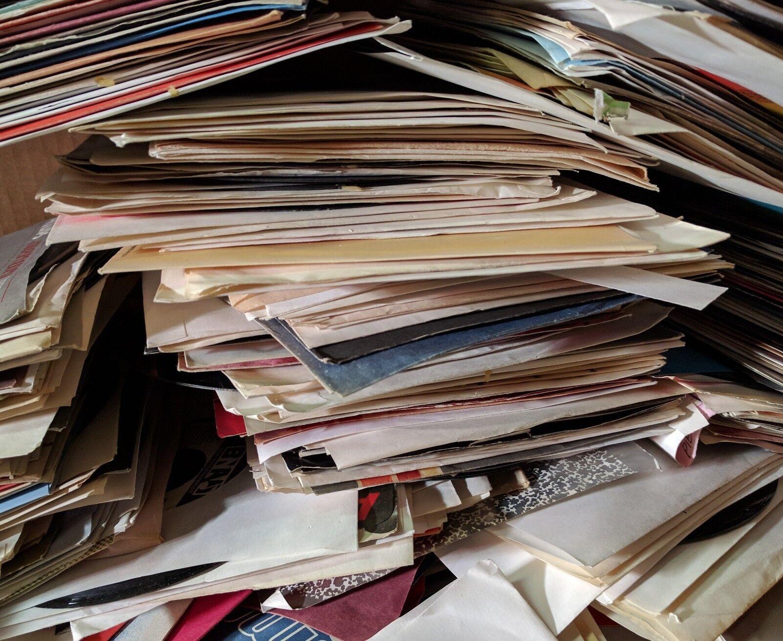 "45 rpm LOT *** 100 ROCK & POP vinyl jukebox RECORDS *** 60s 70s 80s *** VG 7"""