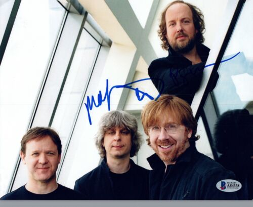 Autographs-original Mike Gordon Phish Autographed Signed 8x10 Photo Aftal Uacc Rd Coa Psa Loa Low Price