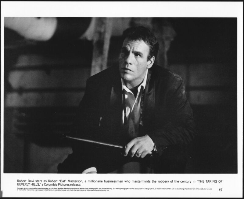 TAKING OF BEVERLY HILLS - 1991 - Original 8x10 Glossy Photo - ROBERT DAVI
