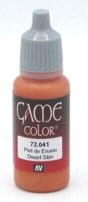 Vallejo 72.041 Dwarf Skin (17ml Bottle) Game Color Acrylic Paint Rosy Flesh Pink