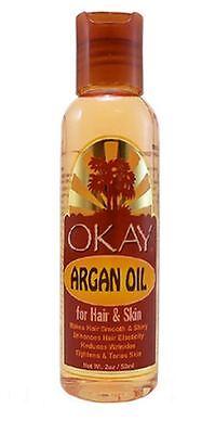 Okay Argan Oil For Hair   Skin  2 Oz