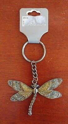 Dragon fly Keychain Key Ring Ornament