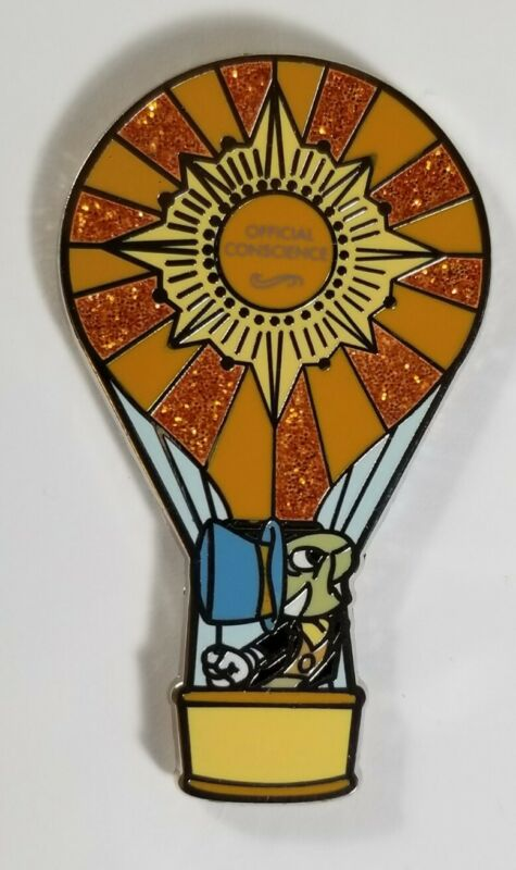 Disney Pin Adventure Out There Mystery - Jiminy Cricket Hot Air Balloon #101315