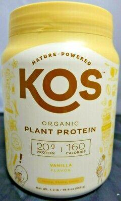 KOS Protein Powder Vanilla EXP. 9/21