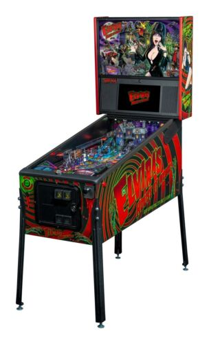 NEW Stern Elvira House Of Horrors  Premium Pinball Machine Ships October