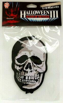 Halloween 3 Season Skull Horror Movie Car Room Air Freshener Collectible Gift (Halloween 3 Movie)