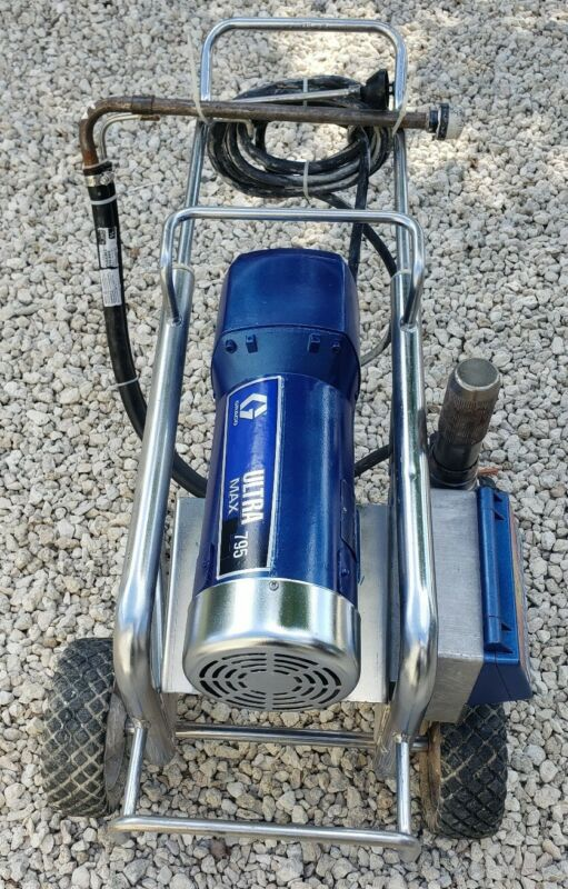 GRACO ULTRA MAX 795 ELECTRIC AIRLESS PAINT SPRAYER,
