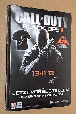 Call of Duty Black OPS II promo T-Shirt size XL PlayStation 3 Xbox 360 Wii