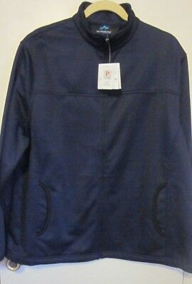 Tri-Mountain Performance Womens Navy Blue Jacket W/ Fleece Backing~Sz 2XL~NWTS Womens Plus Performance Fleece