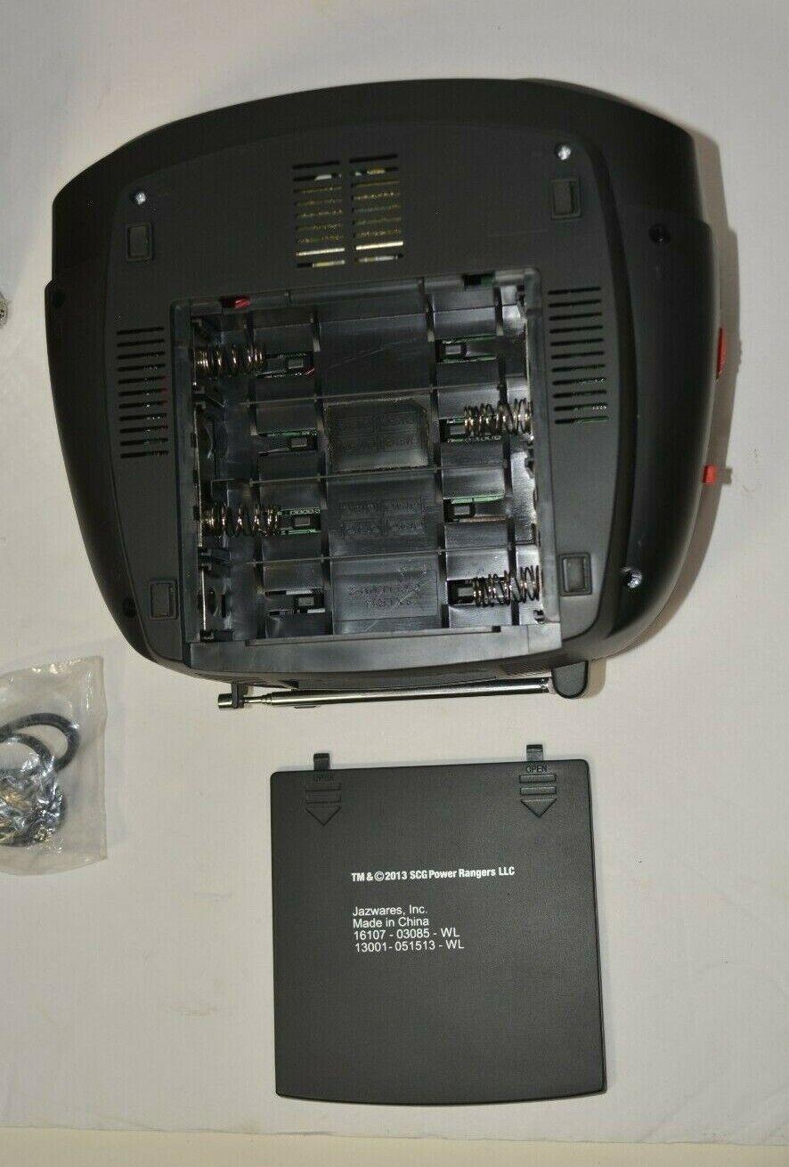 Power Rangers Megaforce Boombox Radio Cd Player Mp3 - $60.49