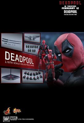 Hot Toys MMS347 Deadpool Movie 1/6 Scale Figure Marvel Ryan Reynolds SOLD OUT