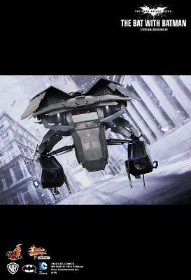 Sideshow Hot Toys 1/12 Scale Dark Knight Rises The Bat w/ Batman Figure MMSC001