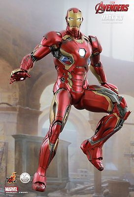 Avengers: Age of Ultron Iron Man Mark XLV 1:4 Collectible Figure HotToys QS006