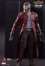 HOT TOYS MMS 225 ~ STAR-LORD ~ GUARDIANS OF THE GALAXY ~ MISB! Narellan Camden Area Preview