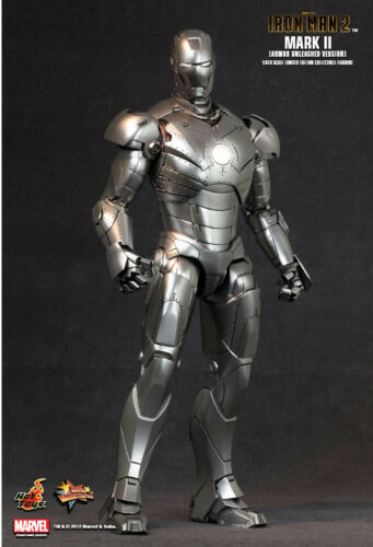 Hot Toys 1//6 Ironman Mark II Armor Unleashed Version Mask
